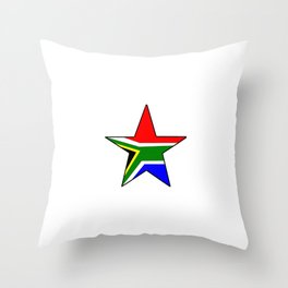 flag south africa 3,  African,Afrikaans,Mandela,apartheid, Johannesburg,Soweto,Pretoria,Durban,Tembi Throw Pillow