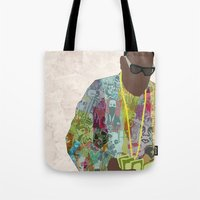 notorious Tote Bags featuring The Notorious by sens