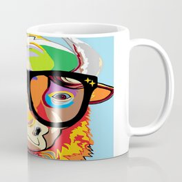 "Hipster Bison ""Buffalo"" Coffee Mug"