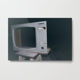 Television Rules The World Metal Print