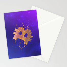 BITCOIN Galaxy Stationery Cards