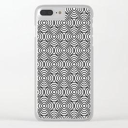 Op Art 86 Clear iPhone Case
