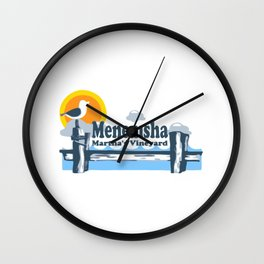 Menemsha - Martha's Vineyard. Wall Clock