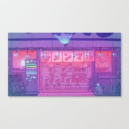 Ramen Shop Canvas Print