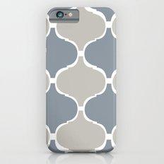 MARRAKECH PATTERN GreyBlue iPhone 6s Slim Case