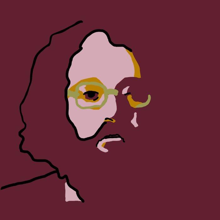 Allen Ginsberg Duvet Cover