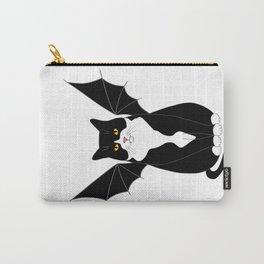 Halloween Bat Cat Carry-All Pouch