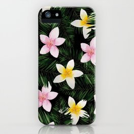 Leave Me Aloha in Black iPhone Case