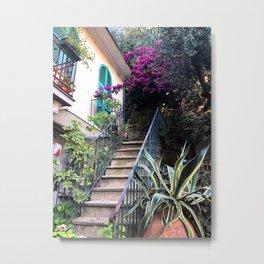 Portofino street Metal Print