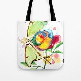 Luna Rose Tote Bag