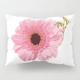 Pink Gerbera Pillow Sham