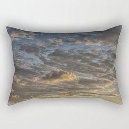 CLOUDS AT THE SUNSET Rectangular Pillow