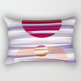 Abstract transparencies Rectangular Pillow