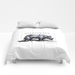 Rinoceros Comforters