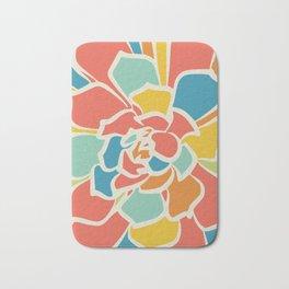 Color bloom boom Bath Mat