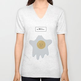 that is the EGG-spirit Unisex V-Neck