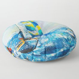 Regatta Floor Pillow