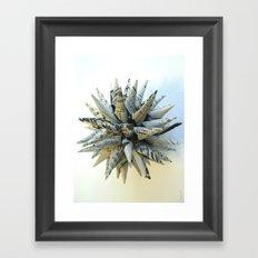 Polish Star Framed Art Print