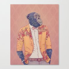 Alvin the Ape Canvas Print