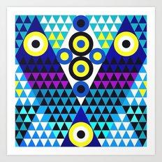 V (in LOVE) Art Print