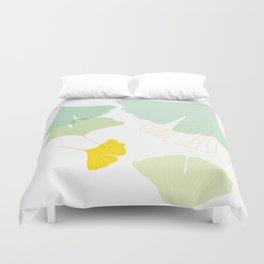 Gingko Leaves Duvet Cover