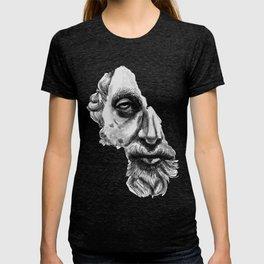 Marcus Aurelius classic sculpture portrait T-shirt