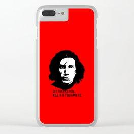 Supreme Leader Ren Clear iPhone Case
