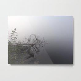 Foggy Lake 2.0 Metal Print