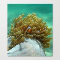 nemo Canvas Prints featuring Nemo by Anika Wilson