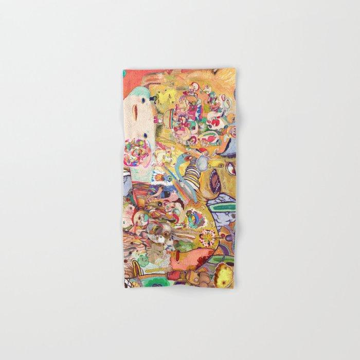 monster of mind ( Renovate work 2008-2016) Hand & Bath Towel