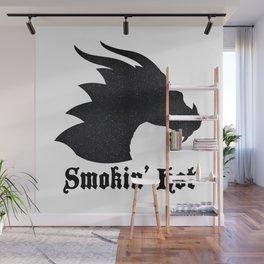 Smokin' Hot   Dragon Wall Mural