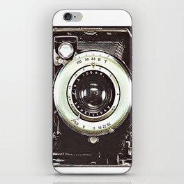 Smile- Vintage Camera iPhone Skin