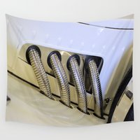custom Wall Tapestries featuring Custom Car by Brian Raggatt