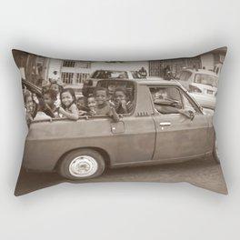 Honiara school bus Rectangular Pillow