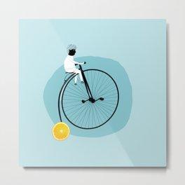 My bike Metal Print