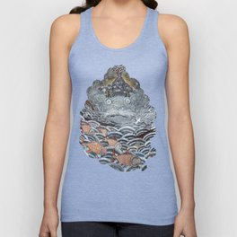 Golden Fishes Unisex Tank Top