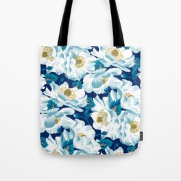 Mount Cook Lily (Night) Tote Bag