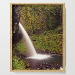 Ponytail Falls V Serving Tray
