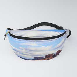Cathedral Rock BIG SKY in Arizona by Reay of Light Fanny Pack