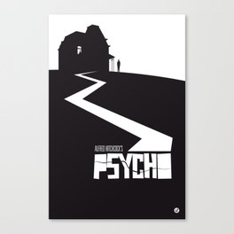The Black Collection' Hitchcock Movie Canvas Print