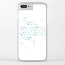 Play or pause? Clear iPhone Case