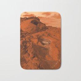 Mars landscape Bath Mat