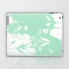 Takata - spilled ink marble swirl watercolor painting abstract minimal art Laptop & iPad Skin