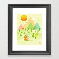 Prosperous Framed Art Print