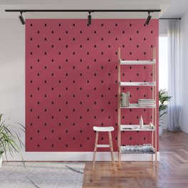 Watermelon Minimal Pattern Wall Mural