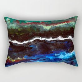 Agitation Rectangular Pillow