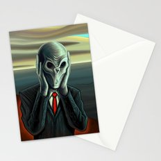 Silent Scream - The Silence Stationery Cards