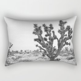 joshua tree bw Rectangular Pillow