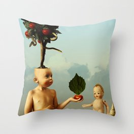 A New Breed Throw Pillow