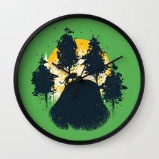 Wildlife Habitat Wall Clock